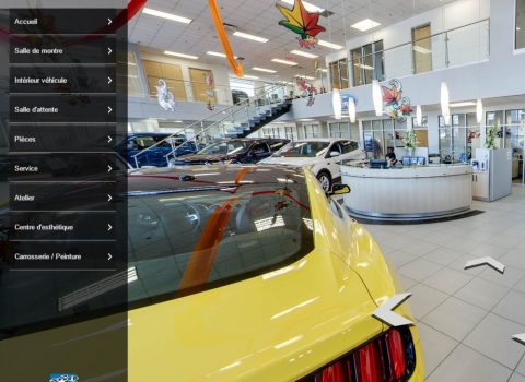 Baril Ford Lincoln Google Street view 360